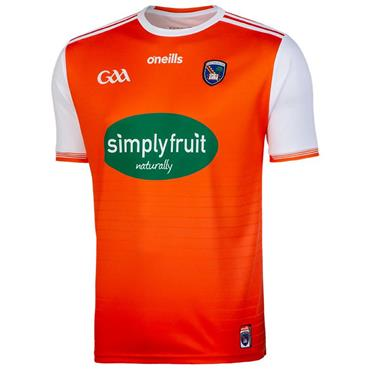 O'Neills Adults Armagh GAA Home Jersey 19/20 - Orange