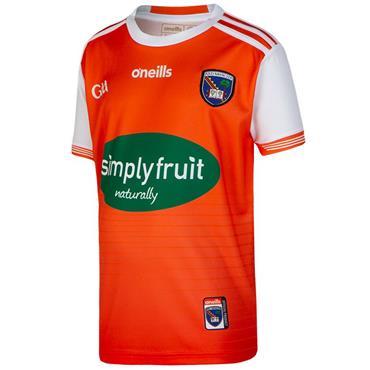 O'Neills Kids Armagh GAA Home Jersey 19/20 - Orange