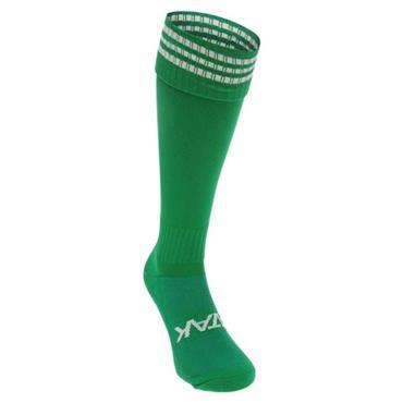 Atak 3 Bar Football Socks - Green