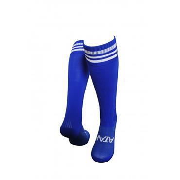 3 BAR FOOTBALL SOCKS - BLUE