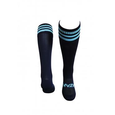 ATAK 3 Bar Football Socks - Navy