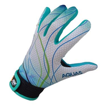 ATAK Kids Aquas GAA Gloves - Blue/White