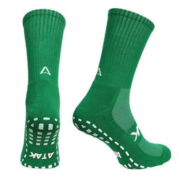 Atak Grippy Sports Socks - Green