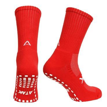 Atak Grippy Sports Socks - Red
