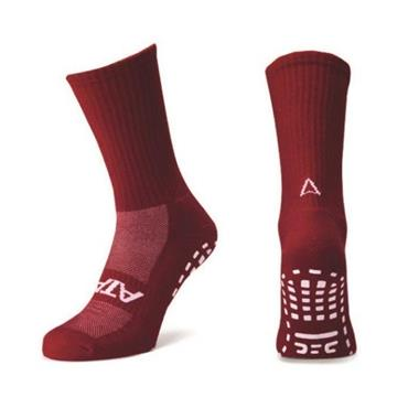 Atak Grippy Sports Socks - Maroon