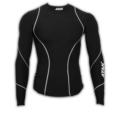 ATAK LONG SLEEVE COMPRESSION SHIRT - BLACK