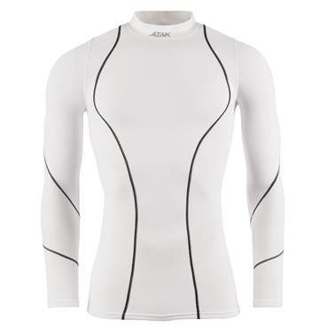 ATAK LONG SLEEVE COMPRESSION SHIRT - WHITE