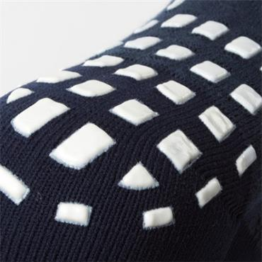 NON SLIP SPORTS SOCK - NAVY