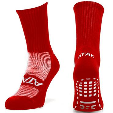 NON SLIP SPORTS SOCK - RED