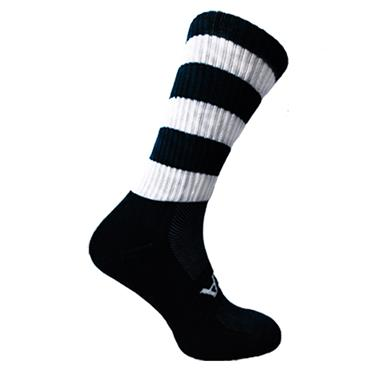 Atak Mid Leg Socks - Black/White