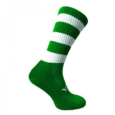 ATAK Mid Leg Socks - Green/White
