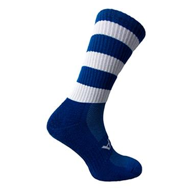 ATAK Mid Leg Socks - Royal/White