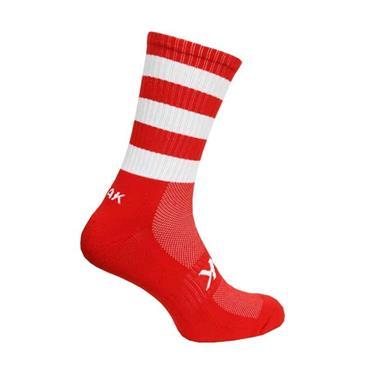 ATAK Mid Leg Socks - Red/White