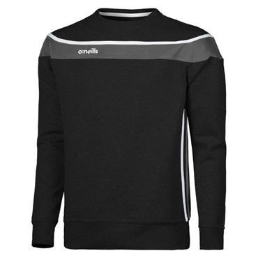 O'Neills Mens Aukland Crew Sweater - BLACK