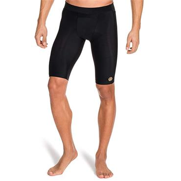 Skins Mens A400 Half Tights - BLACK