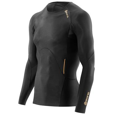 SKINS MENS ACTIVE LONG SLEEVE TOP - ONE