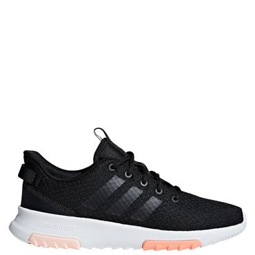 ADIDAS WOMENS CLOUDFOAM RACER TRAINER - BLACK/WHITE