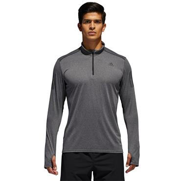 MENS RESPONSE LONG SLEEVE T-SHIRT - GREY