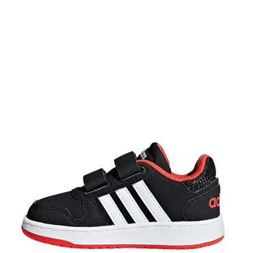 Adidas Infant Hoops 2.0 Shoes - BLACK