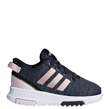 ADIDAS KIDS RACER TRAINERS - BLUE/PINK