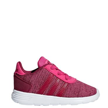 Adidas Infant Lite Racer Trainers - Pink