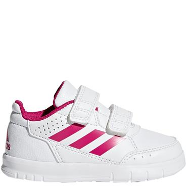 ADIDAS GIRLS ALTA SPORT TRAINER - WHITE