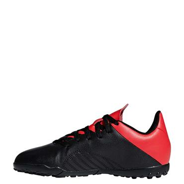 ADIDAS KIDS X 18.4 ASTRO TURF - BLACK/RED