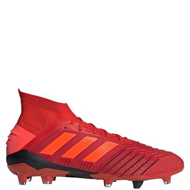 Adidas Adults Predator 19.4 FG Football Boots - Red/Black