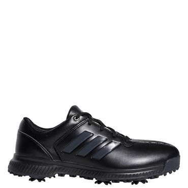 Adidas mens CP Traxion Golf Shoes - BLACK