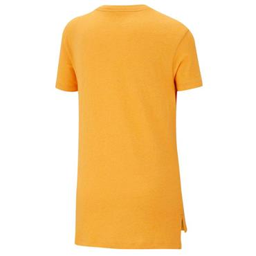 Nike Girls Sportswear T-Shirt - Orange