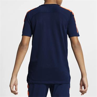 Nike Boys Breathe Squad T-Shirt - Navy