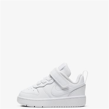 Nike Infants Court Borough Low Trainers - White