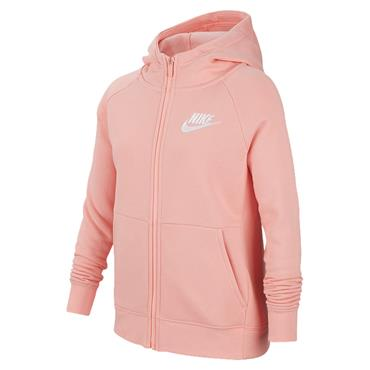 Nike Girls Sportswear Full Zip Hoodie - Pink