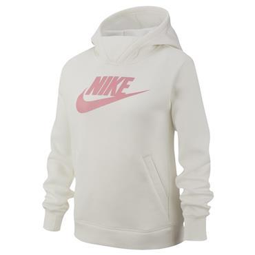 Nike Girls Hoodie - Cream