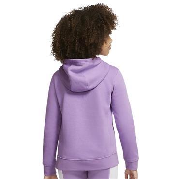 Nike Girls Sportswear Hoodie - Purple