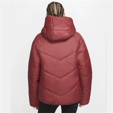 Nike Womens Windrunner Hooded Jacket - Red
