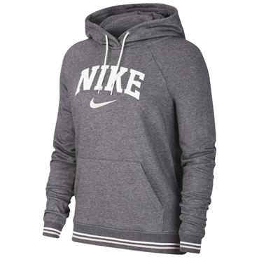 Nike Womens Varsity Fleece Hoodie - Grey
