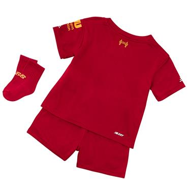 New Balance Infant Liverpool Home Kit 2018/19 - Red