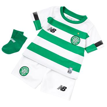 New Balance Celtic Home Baby Kit 2019/20 - Green/White