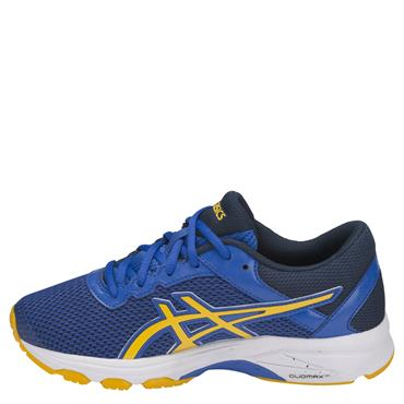 KIDS GT-1000 6 GS RUNNING SHOE - BLUE/YELLOW
