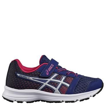 JUNIOR PATRIOT 9 PS RUNNING SHOE - NAVY/MULTI