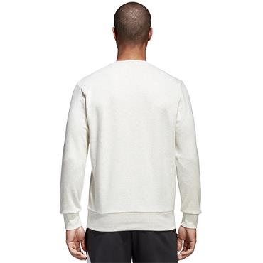 ADIDAS ESS LOGO CREW NECK MEN SWT/SHIRT - CREAM