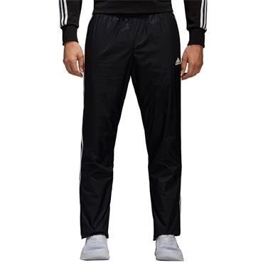 ADIDAS ESSENTIAL MENS 3STRIPE WOVEN PANT - BLACK