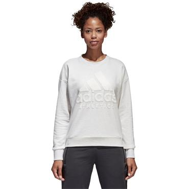 WOMENS SPORTS ID SWEATSHIRT - CREAM