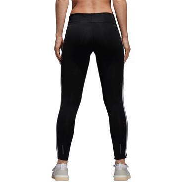 WOMENS DESIGN TO MOVE 3 STRIPE PANTS - BLACK