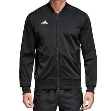 ADIDAS MENS CON18 FULL ZIP JACKET - BLACK