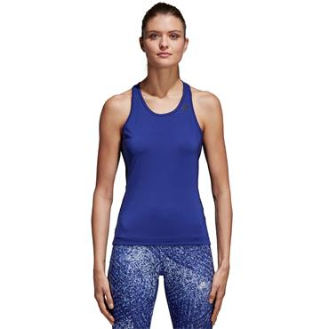 ADIDAS WOMENS CLIMALITE TANK - PURPLE