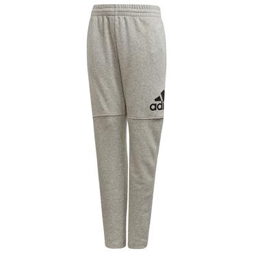 Adidas Boys Logo Pants - Grey