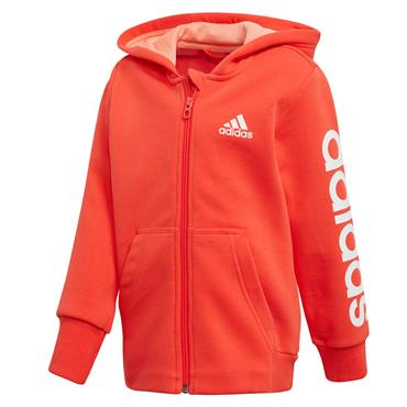 GIRLS HOJO TRACKSUIT - RED/GREY