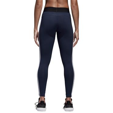 ADIDAS WOMENS ESSENTIALS 3STRIPE LEGGING - NAVY